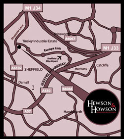 Hewson Howson Map